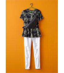 batikmönstrad t-shirt
