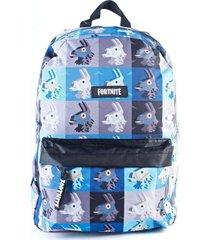 mochila azul fortnite llama