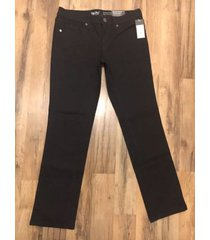 mossimo target super stretch womens jeans mid-rise straight size 6/28s black