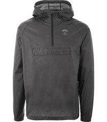 packmack pop over rain jacket - asphalt pm200-asp