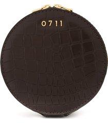 0711 medium evi cosmetic bag - brown