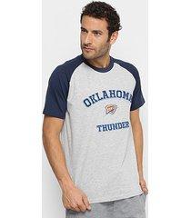 camiseta nba oklahoma city thunder masculina
