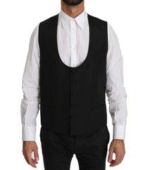 wool regular fit formal dress vest