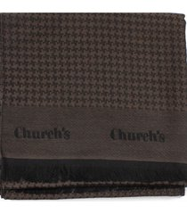 churchs scarf in wool and silk