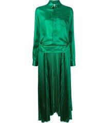 plisse dress