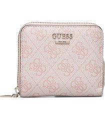 cathleen slg small zip around bags card holders & wallets wallets rosa guess