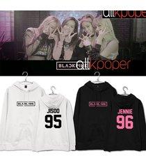 kpop blackpink cap hoodie jennie hoody pullover jisoo sweatershirt lisa rose