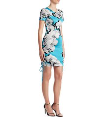 floral tee sheath dress