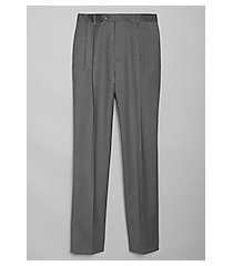 executive collection executive fit pleated front dress pants by jos. a. bank