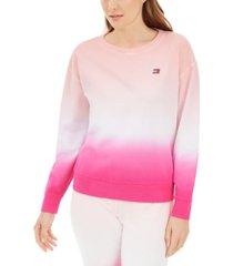 tommy hilfiger ombre cotton sweatshirt