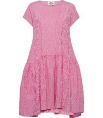 crinckle pop drastica dresses everyday dresses roze mads nørgaard
