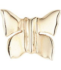'butterfly' 14k yellow gold single stud earring - nature