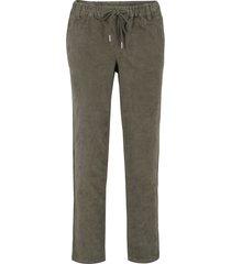 pantaloni di velluto ampi (verde) - bpc bonprix collection