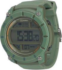 relógio digital x games xmppd524 - unissex - verde