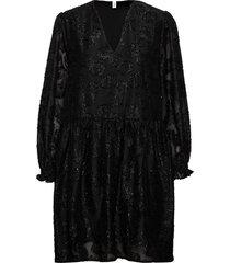 glitrala sanna dress kort klänning svart becksöndergaard