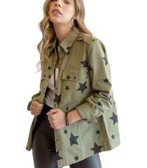chaqueta star verde militar racaventura
