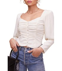 women's astr the label renaissance crop top