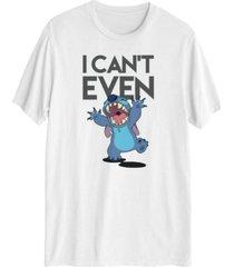 men's disney stitch graphic short sleeves t-shirt