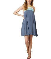 o'neill juniors' tristyn halter mini dress