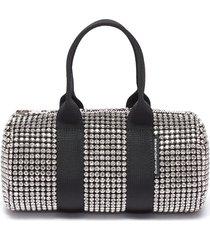 'cruiser' crystal embellished mini duffle bag