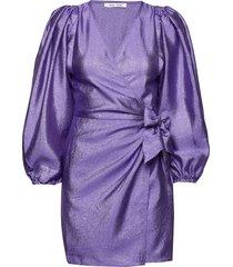 magnolia short dress 11244 korte jurk paars samsøe & samsøe