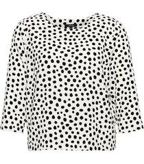 opus blouse met stippen falesha popart