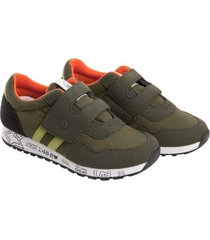 zapatilla oregon verde militar stepps