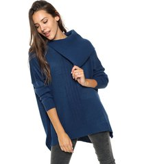 sweater  azul we fly wall
