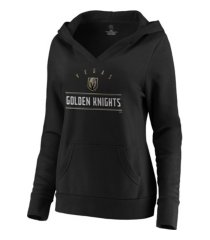 majestic vegas golden knights women's leader v-neck fleece sweatshirt