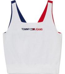 tommy hilfiger adaptive women's emmie wide-neck sweater tank top