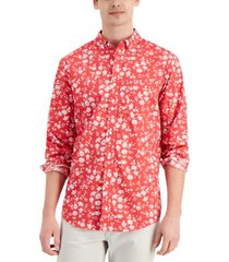 club room men's floral shirt, created for macy's