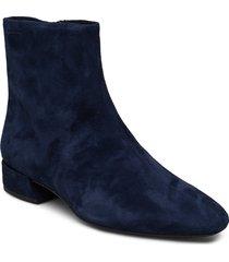 joyce shoes boots ankle boots ankle boot - heel blå vagabond