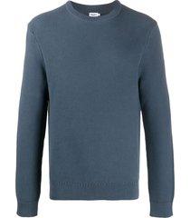 filippa k clarke textured sweatshirt - blue