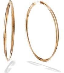 women's lana jewelry crossover royale hoop earrings