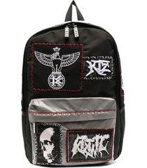ktz reflective pocket backpack - black