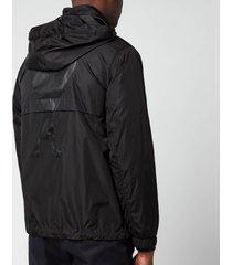 ami men's lightweight jacket - black - xl