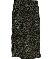 skirt knälång kjol grön sofie schnoor