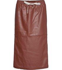 marie midi skirt knälång kjol röd designers, remix