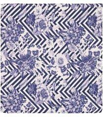 pañuelo de bolsillo con un diseño de flores para hombre 04137