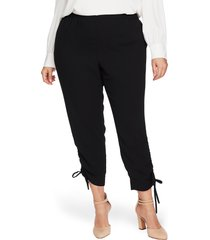 plus size women's cece side ruched pants