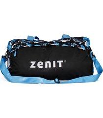 bolso azul estampado zenit traveler