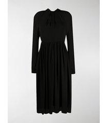 prada sablé crepe dress