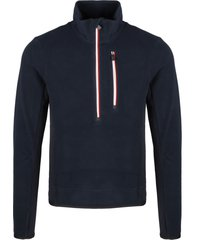 moncler grenoble fleece sweatshirt with zipper
