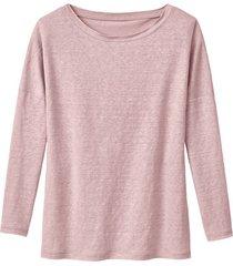 linnen jersey shirt, roze 44