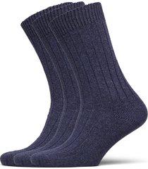 supreme sock 3-pack underwear socks regular socks blå amanda christensen