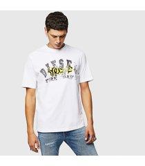 camiseta para hombre t-just-b25 diesel