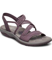 womens reggae slim - skech appeal shoes summer shoes flat sandals lila skechers
