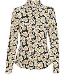 &co woman and co blouse lotte flower