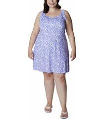 columbia pfg plus size active freezer iii dress
