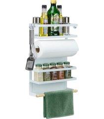 sorbus 4 tier magnet spice rack organizer
